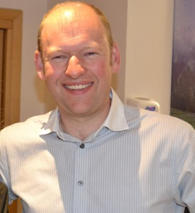 Chris Tidman: Finance Director, Pusher of Buttons and Flicker of Switches