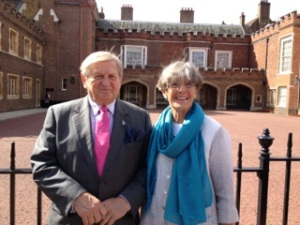 Catherine's Parents at St. Jame's Palace