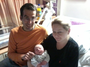 Baby SOPHIA with Mum Alice and Dad Ben (used with permission)