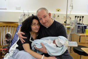 Lisa, Russell and Baby Francesco Enrico Ventura