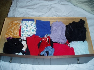 Not my pants...not my drawer...but you get the idea