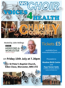 charity concert-flyer